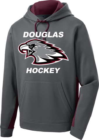 Eagles Hockey Sport-Wick Fleece Colorblock Hoodie
