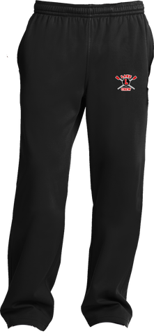Lake Crew Embroidered Sport-Wick Fleece Sweatpant