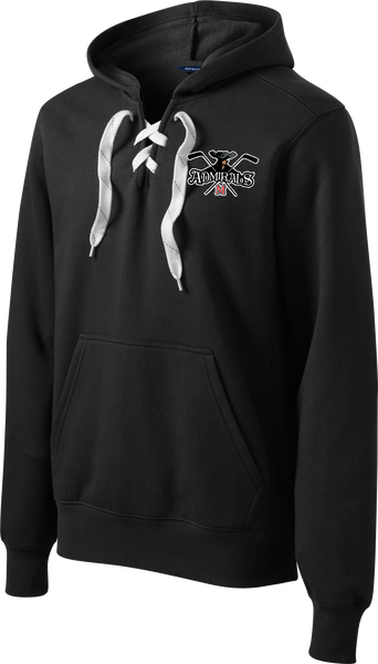 Admirals Hockey Logo Lace Up Hoodie