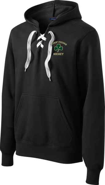Bishop Feehan Logo Lace Up Hoodie