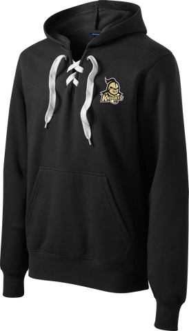 Jr. Knights Logo Lace Up Hoodie