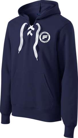 Franklin Flyers Logo Lace Up Hoodie