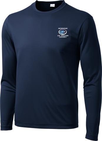 Newsome Long Sleeve Dri-Fit Tee with Player Number