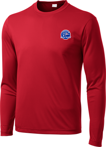 Freedom Hockey Long Sleeve Dri-Fit Tee with Player Number