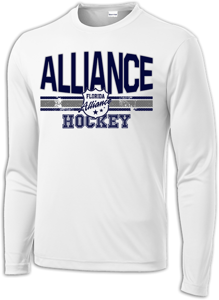 Alliance Hockey Fundamentals Long Sleeve Dri-Fit Tee
