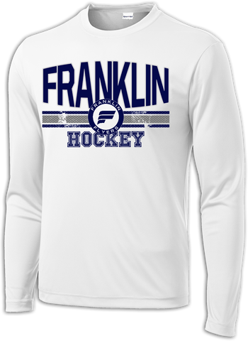 Franklin Hockey Fundamentals Long Sleeve Dri-Fit Tee