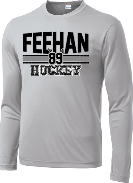 Bishop Feehan Hockey Fundamentals Long Sleeve Dri-Fit Tee