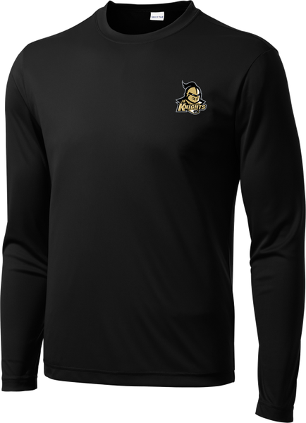 Jr. Knights Long Sleeve Dri-Fit Tee w/ Player Number