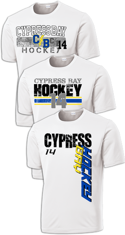 Cypress Bay Hat Trick Dri-Fit Custom T-Shirt Set