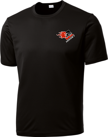 Gulf Coast Flames Dri-Fit Tee with Player Number