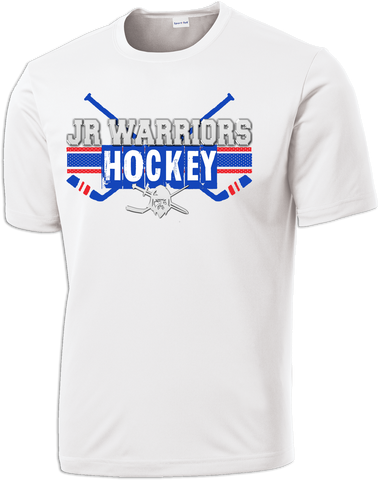 Jr. Warriors Hockey Cross Check Dri-Fit Tee