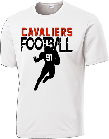 Cavaliers Football Endzone Dri-Fit Tee