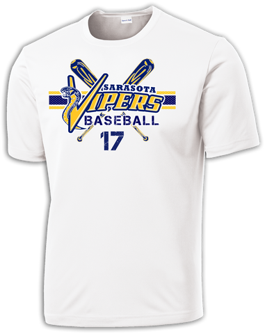 Vipers Baseball BatBoy Dri-Fit T-Shirt w/ Player Number