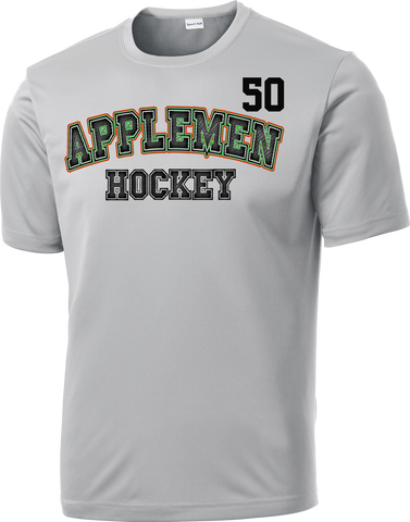 Applemen Hockey Accelerator Dri-Fit Tee w/ Player Number