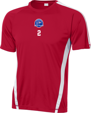 Freedom Hockey Colorblock Competitor Tee