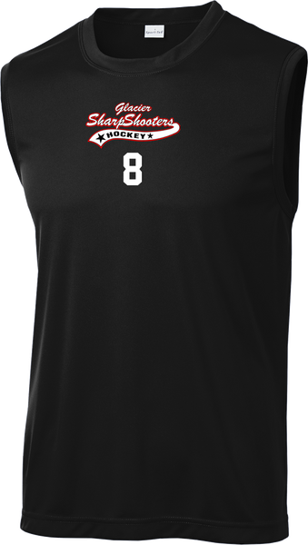 Sharp Shooters Sleeveless Dri Fit Shirt w/ Player #
