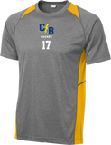 Cypress Bay Heather Colorblock Contender Tee w/ Player Number