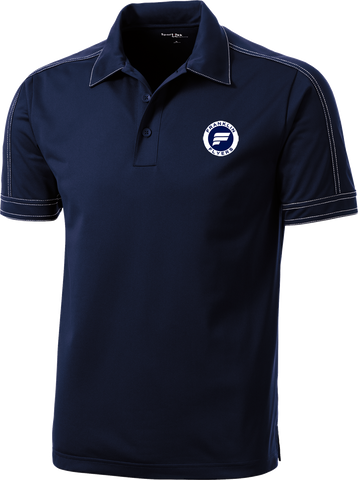 Franklin Flyers Contrast Stitch Micropique Polo