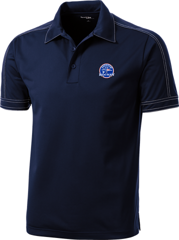 Freedom Hockey Contrast Stitch Micropique Polo