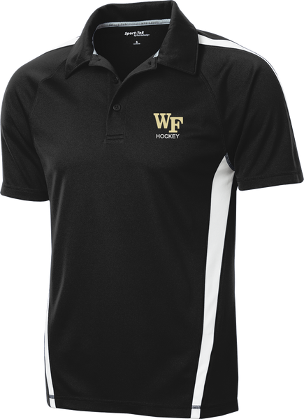 Wake Forest Micro-Mesh Colorblock Polo