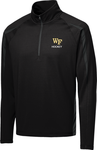 Wake Forest Stretch 1/2-Zip Colorblock Pullover