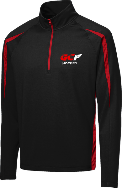 Gulf Coast Flames Stretch 1/2-Zip Colorblock Pullover