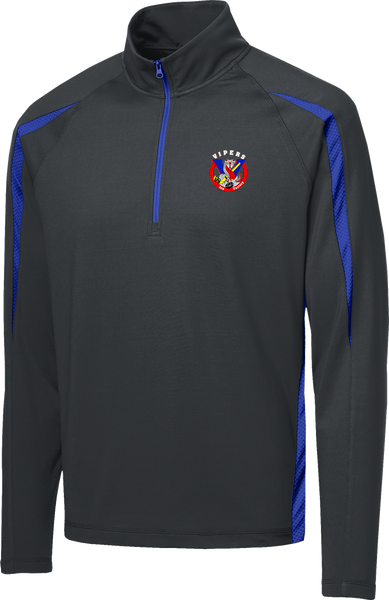 Vipers Stretch 1/2-Zip Colorblock Pullover