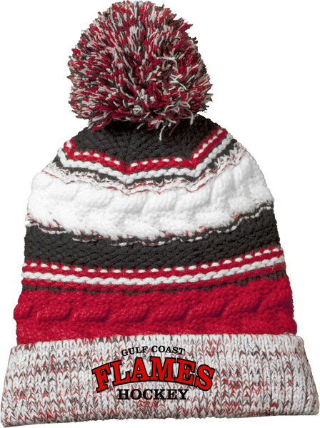 Gulf Coast Flames Team Beanie