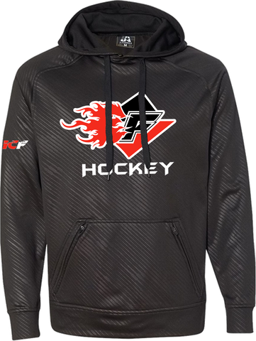 Gulf Coast Flames Hockey Volt Polyester Fleece Hood