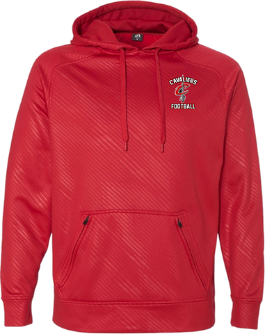 Cavaliers Football Volt Polyester Fleece Hoodie