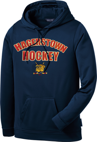 Hagerstown Bulldogs Hockey Sport-Wick Dri-Fit Fleece Hoodie