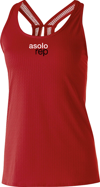 Asolo Rep Embroidered Precision Tank