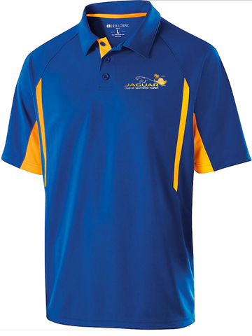 Jaguar Club of Southwest Florida Color Blocked Dri-Fit Polo