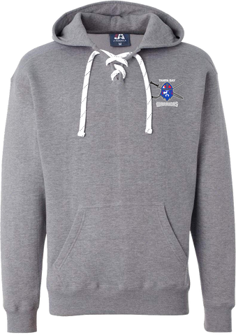 Jr. Warriors Hockey Lace Hoodie