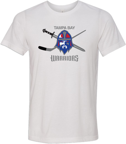 Jr. Warriors Hockey Logo T-shirt with Player Number