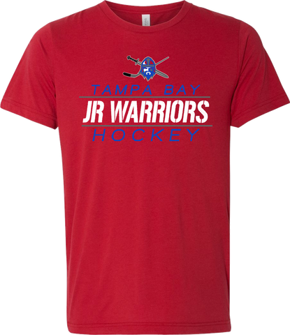 Jr. Warriors Hockey Between The Lines Triblend T-shirt