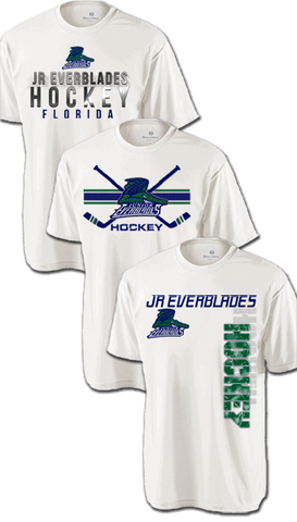 Jr. Everblades 2016 Hat Trick Dri-Fit Custom T-Shirt Set