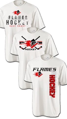 Flames Hat Trick Dri-Fit Custom T-Shirt Set