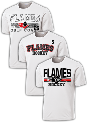 Gulf Coast Flames Hat Trick Dri-Fit Custom T-Shirt Set