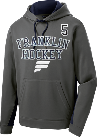 Franklin Flyers Sport-Wick Fleece Colorblock Hoodie