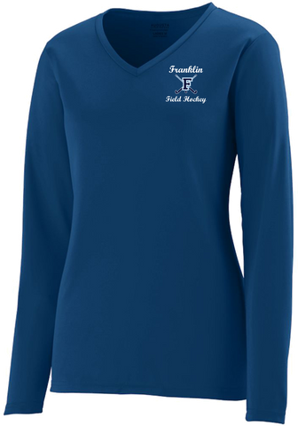 Franklin Field Hockey Long Sleeve Wicking Tee *Available in Youth*