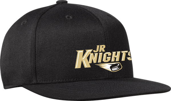 Jr. Knights Flex Fit Flat Brim Cap