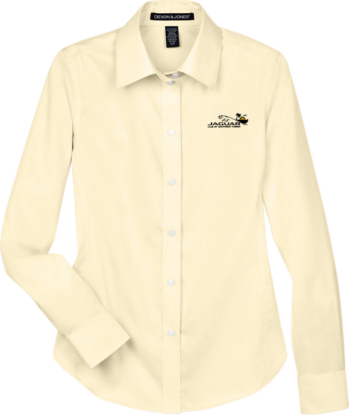Jaguar Club of Southwest Florida Ladies Solid Stretch Twill