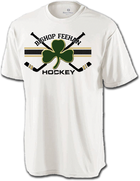 Bishop Feehan Hockey Cross Check Dri-Fit Tee