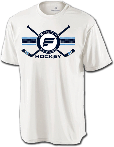 Franklin Flyers Hockey Cross Check Dri-Fit Tee