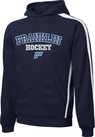 Franklin Flyers Accelerator Printed Stripe Pullover Hooded Sweatshirt