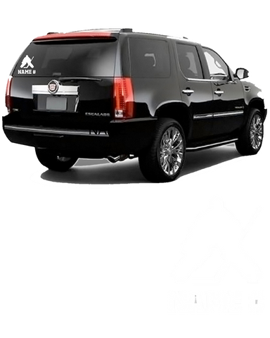 Vinyl Hockey Goalie Car Decal