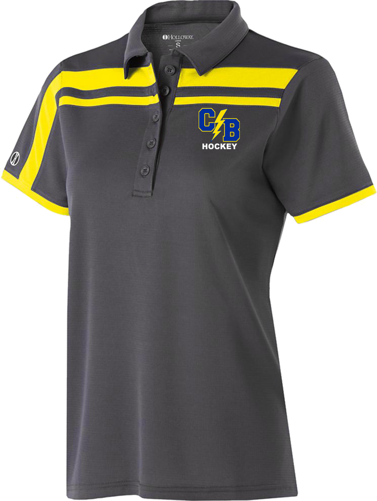 Cypress Bay Hockey Ladies Charge Polo – Direct Team Sports 8e1a44946