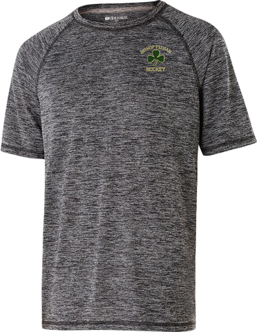 Bishop Feehan Hockey Heathered Dri-Fit T-Shirt