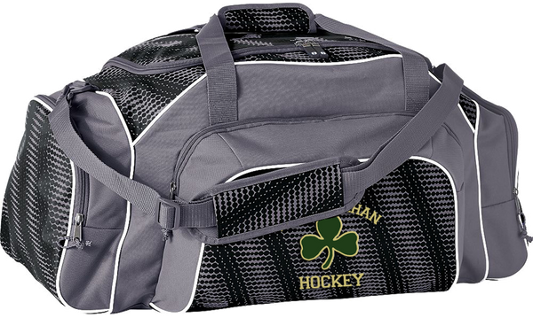 Bishop Feehan Hockey Tournament Duffle Bag with Player #